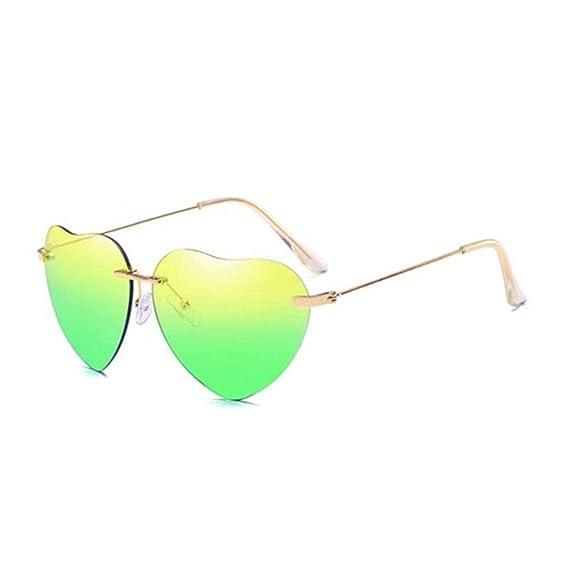 Wang-RX Amor del corazón gafas de sol mujeres moda vintage ...