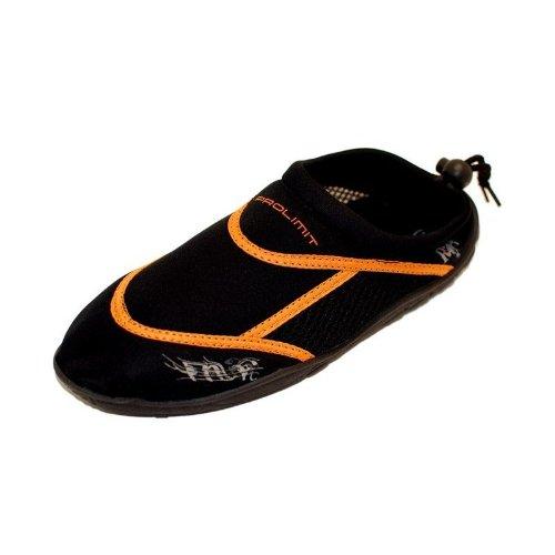 Prolimit Neoprenschuhe Beach Shoe Black Orange