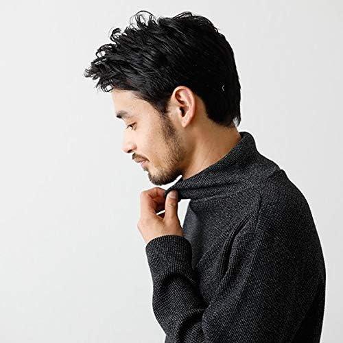 【2019AW】メランジ ワッフル ハイネックロングTシャツ