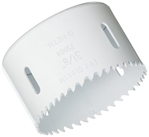 - IVY Classic 28050 3-1/8-Inch Bi-Metal Variable Pitch Hole Saw, 1/Box