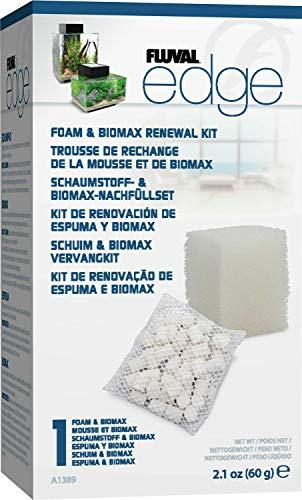 Hagen Fluval Edge Foam & BIOMAX Renewal Kit, 12 Pack ()