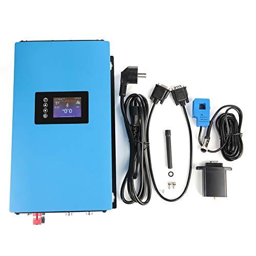 Solar Wechselrichter, 110/220V EU Stecker 1000W/2000W Solar Power Grid Tie Wechselrichter mit Limiter für Heimkinos, elektrische Schleifscheiben(#03)