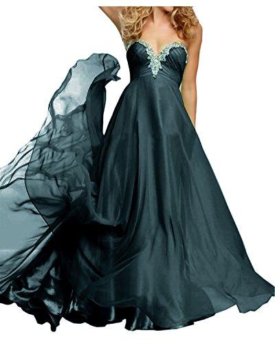 Navy Langes Chiffon Steine Braut Blau Abendkleider La Damen Festlichkleider Ballkleider Marie Fuchsia Dunkel mit n7IPT8g