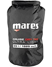 Mares Cruise Dry T de Light 25L Bolsa de Transporte, Black, 24x 57.5cm, 25L