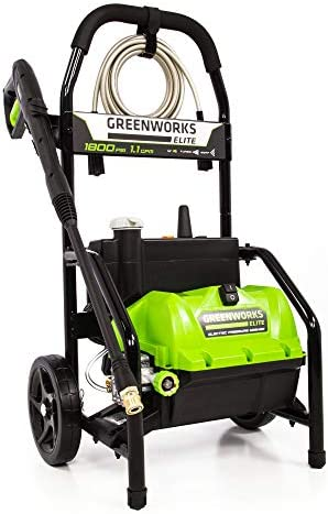 Greenworks 1800 PSI 1.1 GPM Electric Pressure Washer, PW-1800
