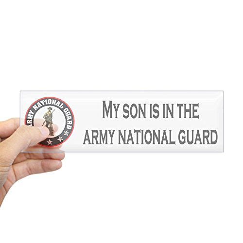 (CafePress Bumper Sticker: Son In National Guard 10