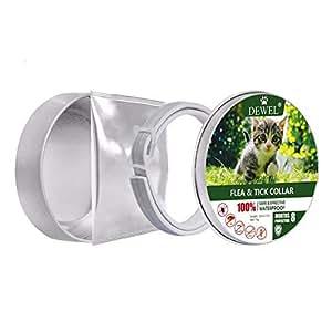 Pet Cat Collar Natural Essential Oil Anti Flea Ticks Lices Mosquitoes Collars Mite Protection Adjustable Waterproof Collars