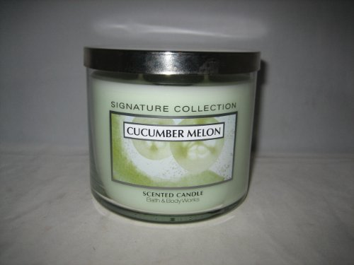 Bath & Body Works Slatkin & Co 14.5 Oz. Filled Candle - Cucumber Melon