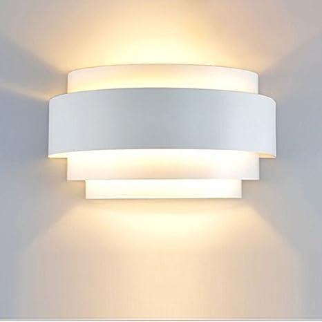 Unimall 5w Lampada Da Parete A Led Applique Da Parete Interni Decorazione Per Sala Soggiorno Corridoio 3200k Bianco Caldo Amazon It Illuminazione