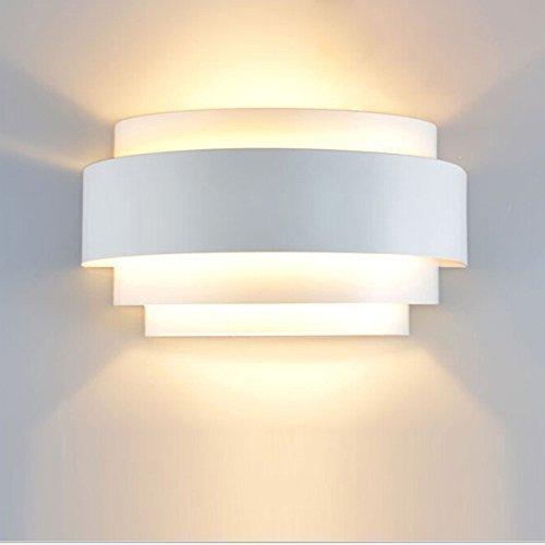 Lightess Modern LED Wall Lights Up Down Wall Light Sconce Lamp E27 Ideal  For Living Room