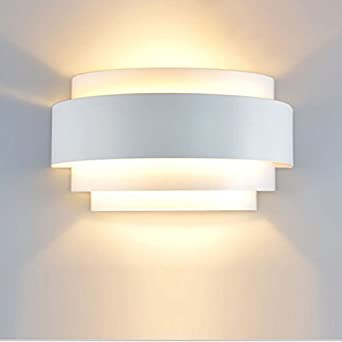 Lovely Modern LED Wall Light Sconce Up Down Wall Lights Wall Lamp E27 Perfect For  Living Room Hallway Bedroom Lamps , Warm White(Light Bulb Include) [Energy  Class ... Ideas