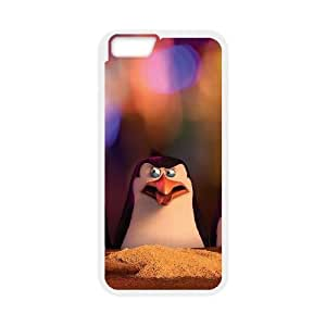 High Quality Specially Designed Skin cover Case Penguins Of Madagascar iPhone 6 6s Plus 5.5 Inch Cell Phone Case White