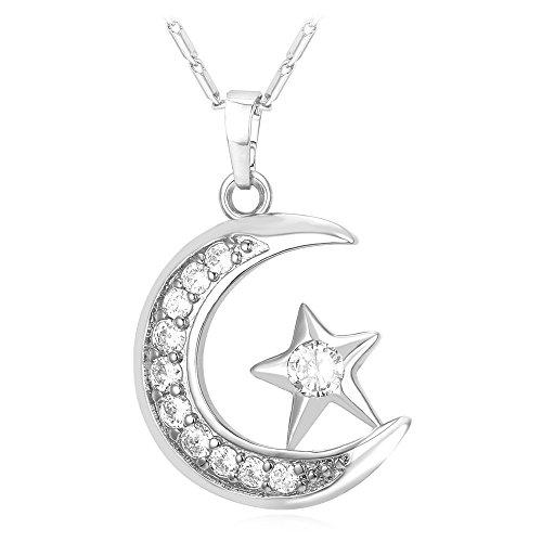 Statement Islamic Jewelry Cresent Necklace