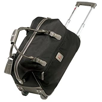 bcbbe90cbda Image Unavailable. Image not available for. Color  Swiss Gear Zurich  Rolling Duffel Bag ...