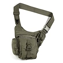 Red Rock Outdoor Gear Sidekick Sling Bag (Small, Olive Drab)