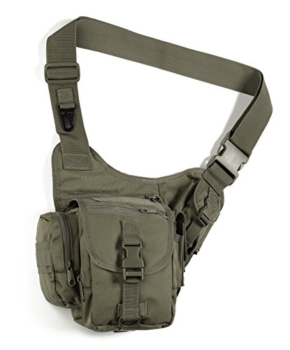 Red Rock Outdoor Gear Sidekick Sling Bag (Small, Olive (Ammo Rocks)
