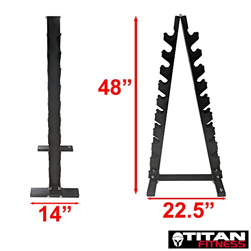 Titan Lightweight Dumbbell Tree by TITAN FITNESS (Image #7)
