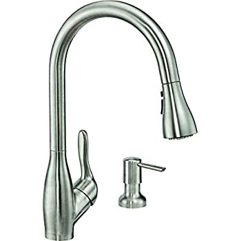 Zuhne Wica Pull Down Water Saving Single Lever High Arc