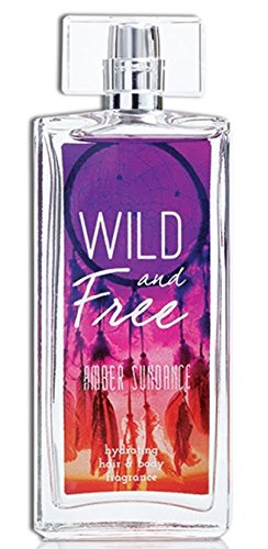 Wild and Free Hydrating Hair & Body Fragrance for Women - Amber Sundance - Fruity & Floral Body Spray - Natural Feminine Scent - 3.4 oz 100 ml