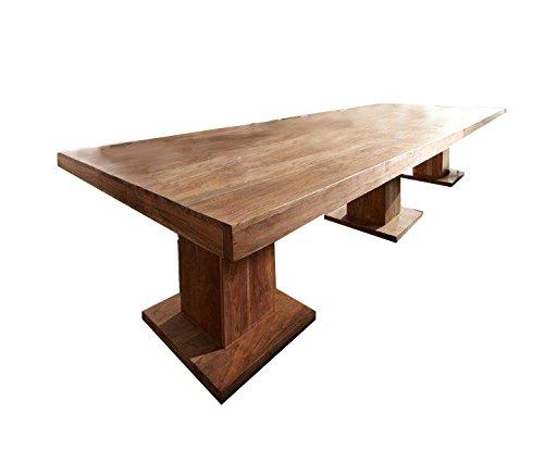 Sam Esszimmer Tisch Saber 6697 Stonefarben 300 X 76 X 120 Cm