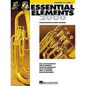 Essential Elements 2000: Book 2 (Baritone B.C.)