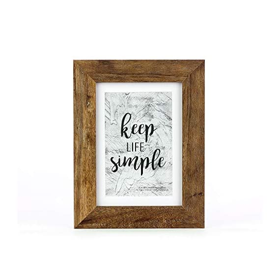 Home&Me Rotten White Picture Frame Wide Molding - Wall Mounting Material Included (5x7-1Pack, Rotten Brown) -  - picture-frames, bedroom-decor, bedroom - 41BdUaobj4L. SS570  -