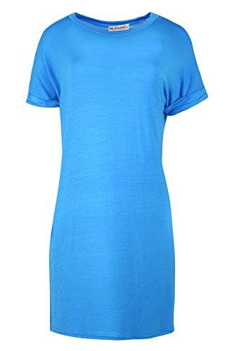 Oops Outlet - Camiseta - Manga Larga - para mujer turquesa
