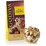 GODIVA Chocolatier Wrapped Milk Chocolate Caramels, Great for Gifting