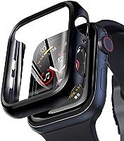 【3D全面保護】Apple Watch ケース Series4/5 対応 44mm 傷防止 耐衝撃PCケース