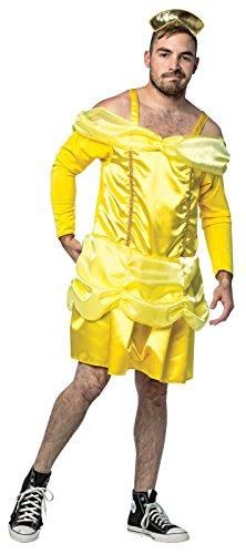[Mens Beauty Is a Beast Funny Princess Costume] (Mens Beast Halloween Costume)