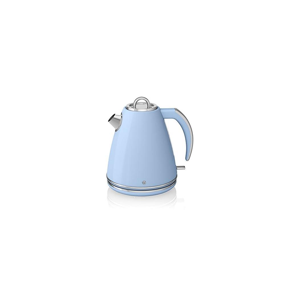 Swan Jug Kettle, 1.5 Litre, 3000 W, Blue