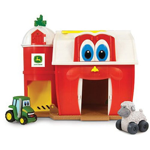 TOMY Ertl John Deere Tractor and Friends Buddy Barn Playset