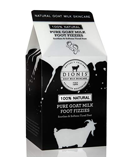 Dionis Pure 2 Count Goat Milk Foot Fizzies Milk Carton