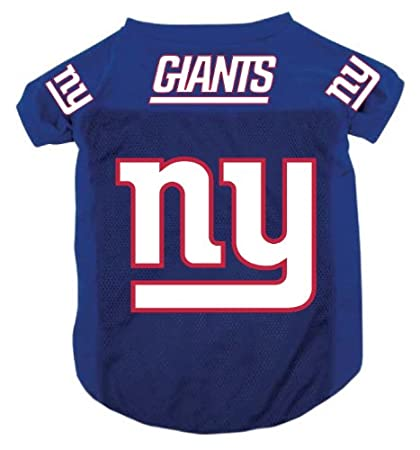 timeless design 41ffd d361d New York Giants Pet Dog Football Jersey Alt. Blue XL