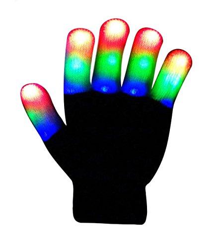 the-noodleys-flashing-led-light-gloves-kids-size-extra-batteries-black-white