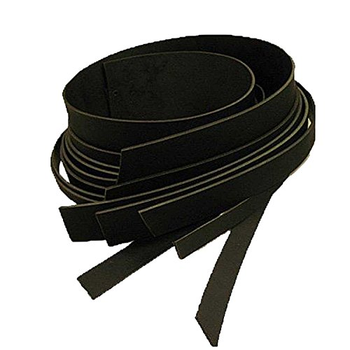 (Buffalo Leather Strips 8/9 ounce 1-1/4