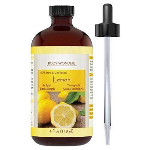 Body Wonders Lemon Essential Oil 4 Oz Private Label Cosmetic Corp