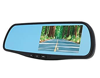DS18 SMARTEAGLE S Rearview Smart Mirror with 4.3 HD LCD Touch Screen with Android 1080P Dash Cam Recorder