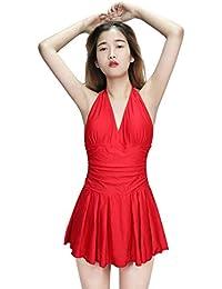 c31618672c Women s Plus Size Swimsuits Tummy Control One Piece Swim Dresses Bathing  Suit