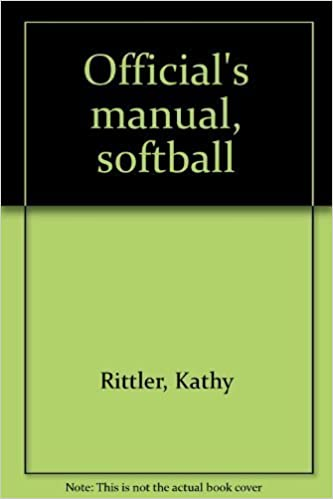 Official's manual, softball, Rittler, Kathy