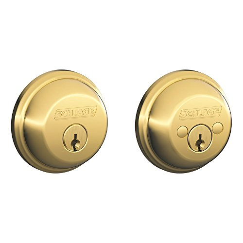 bolt, Keyed 2 Sides, Bright Brass ()