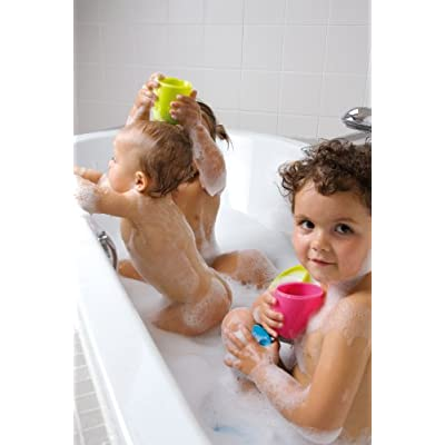 Hoppop Triplo Bath Toys, Lime (Discontinued by Manufacturer) : Bathtub Toys : Baby