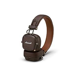 Marshall Major III Bluetooth Wireless On-Ear Headphone, Brown - New