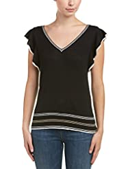 Splendid Womens Short Sleeve Pullover
