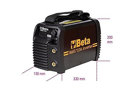 Beta 1860 e/150 a DC mano Electrodo máquina de soldar, apto para generadores