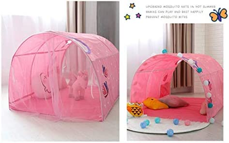 Professionele Kid Play Tent, Baby Girl Boy Veilige Tunnel Wigwam Bedroom Children's Bed Tent, Kids Magic Game House, Festival Decoratie