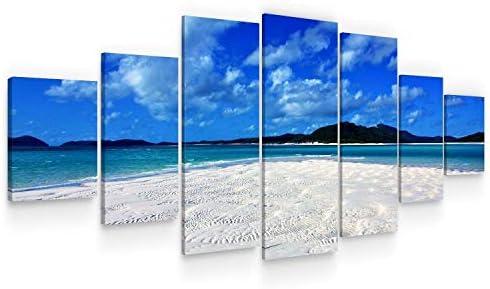 Startonight Large Canvas Wall Art Beach