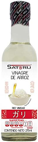 Satoru Vinagre De Arroz Para Preparar Sushi, Agridulce, astringente, 275 mililitros