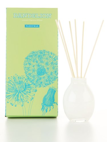 Paddywax Garden Crush Collection Fragrance Diffuser Set, Dandelion, 4-Ounce by Paddywax