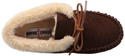 Minnetonka Chrissy Bootie, chaussons d'intérieur femme Marron - Marron (Chocolat)